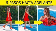 ¡DESAFÍO DE LOS 5 PASOS!    BROMAS DIVERTIDAS Y SITUACIONES INCÓMODAS por 123 GO! CHALLENGE SPANISH