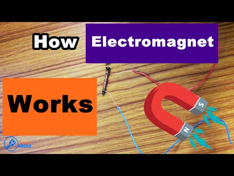 How Electromagnet Works ? | Practical Video (In Hindi)