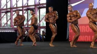 1st Group - Compulsory - Prejudging - Classic Under 180cm - Arnold Classic Amateur Europe 2012