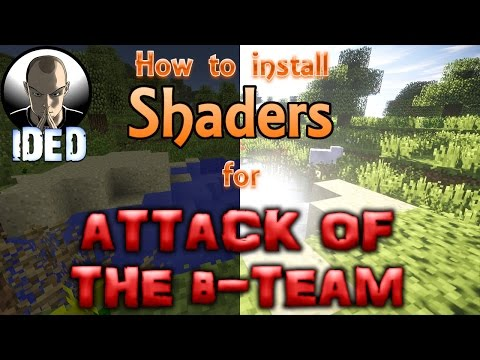How to install Shaders for Attack of the B-Team (AOTBT) - Minecraft 1.6.4