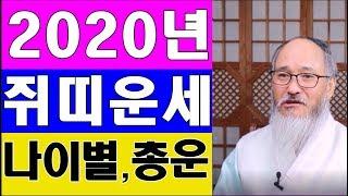 [ 2020년 쥐띠운세 ] 아무도 말해주지 않는 쥐띠의 천기누설( 미리보는 나이별 종합운세)