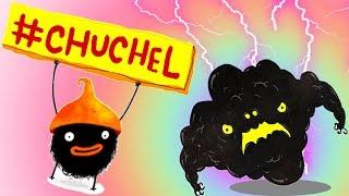 ПРИКЛЮЧЕНИЯ ЧУЧЕЛ мультик игра для маленьких детей #4 -игровой мультфильм 2018 Chuchel Черный шарик!