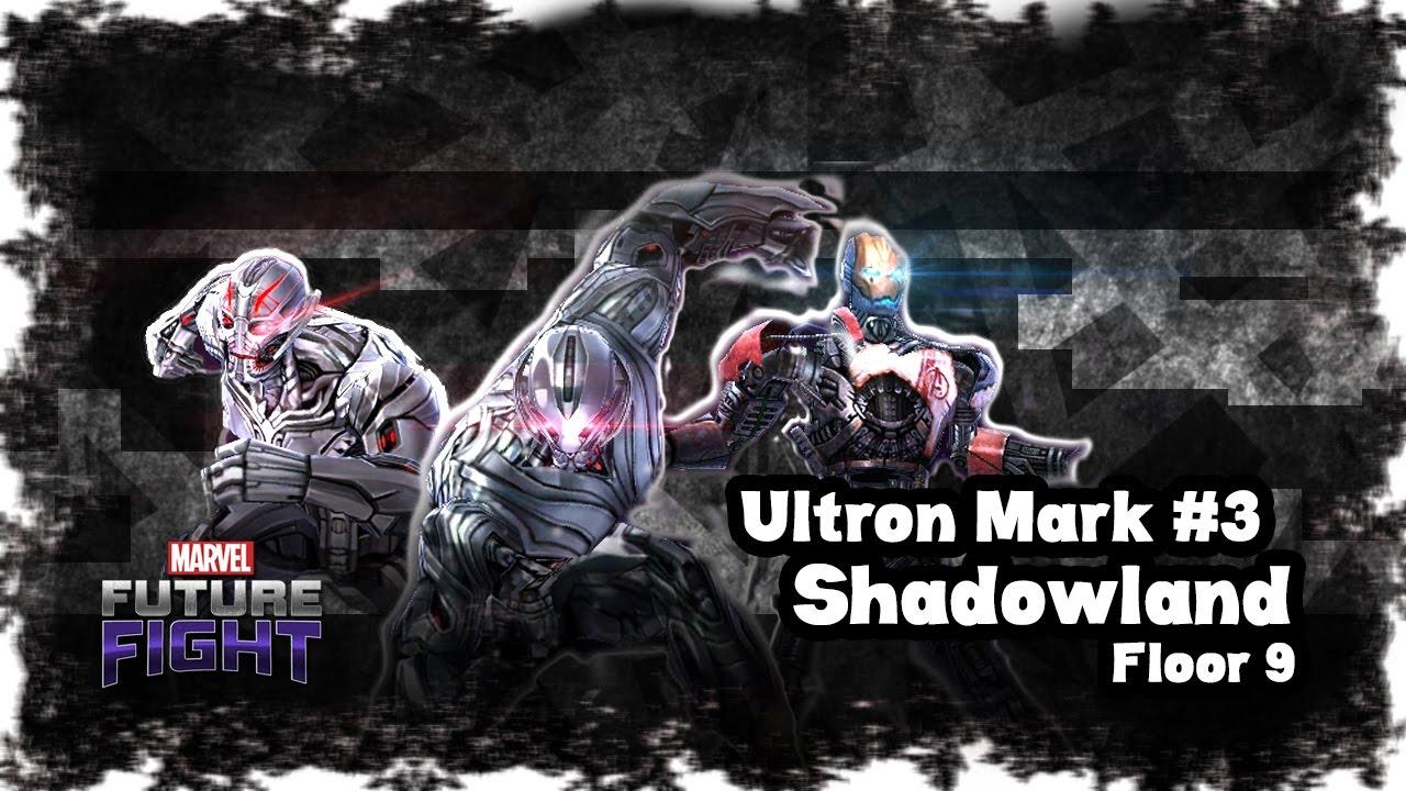 Marvel Future Fight Ultron Mark 3 Solo Shadowland