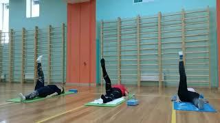 Онлайн урок по йоге в программе \Активное долголетие\