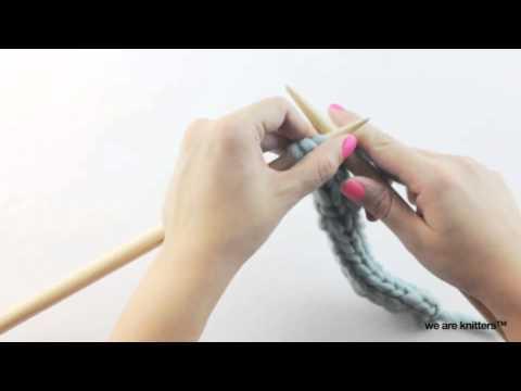 Lerne Kordeln mit zwei Nadeln - YouTube