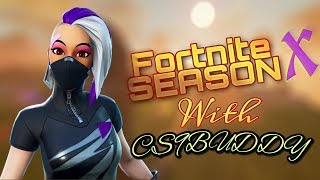 FORTNITE SEASON X INDIAN NOOB PLAYER GRINDING ARENA SOLOS ET PUB ROUTE VERS 850 VICTOIRES CLAN GIVEAWAY-#DS