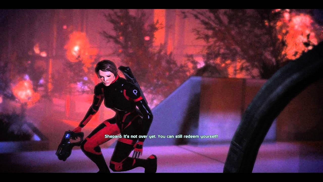 mass effect save the council ending relationship