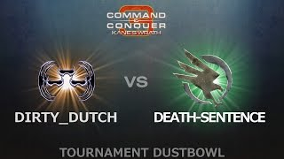 C&C3: Kane's Wrath 1v1 - DirtyDutch (R-17) vs. Death-Sentence (GDI)