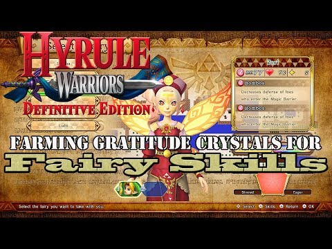 Hyrule Warriors: Definitive Edition - Farming Gratitude Crystals for Fairy Skills