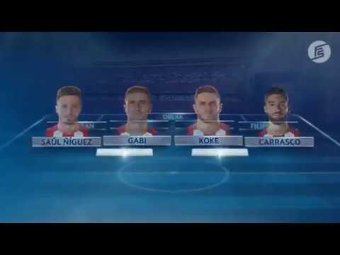 Atletico Madrid vs Leicester City 1 0 Champions League quarter final 2017