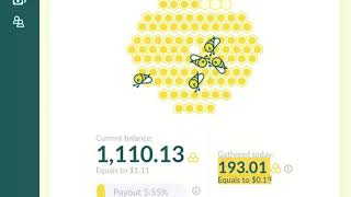 HONEYGAIN APP FOR PASSIVE INCOME FIRST PAYOUT!