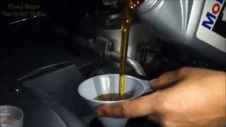 How Change Engine Oil Mercedes Ml Cl
