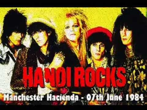 Hanoi Rocks - Live at The Hacienda, Manchester. 7th June 1984.