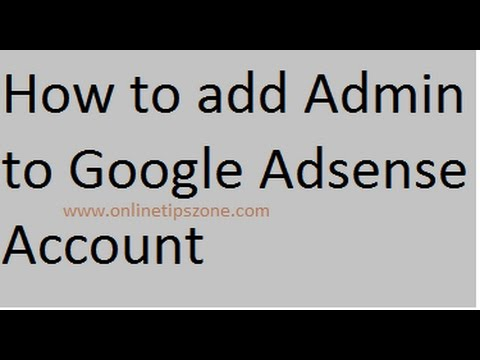 How to Add User to Google Adsense