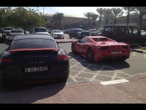 This Is What a College Parking Lot Looks Like in Dubai