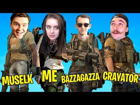 When the squad plays a different game... ft. Muselk, Bazzagazza & Crayator