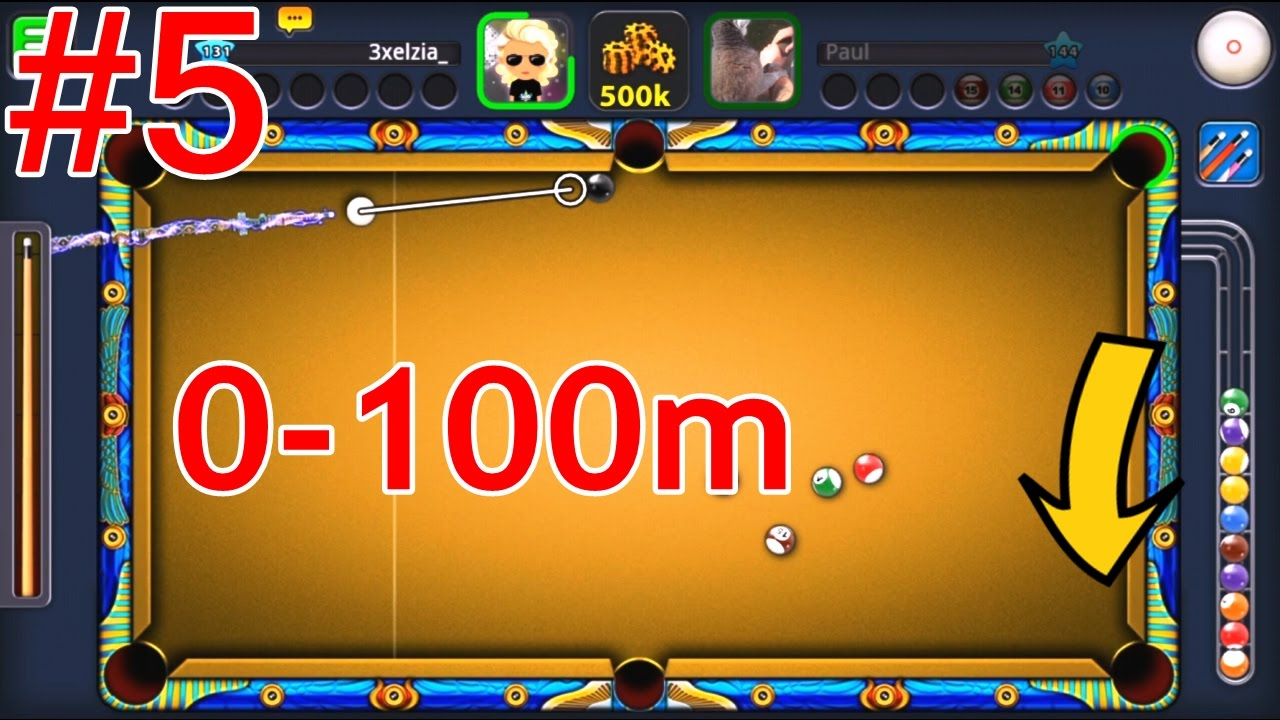 8 ball pool 0 100m part 5 thor hammer cue youtube