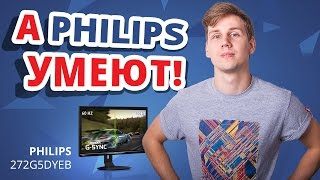 зачем нужны игровые мониторы?  Обзор игрового монитора Philips 272G5DYEB