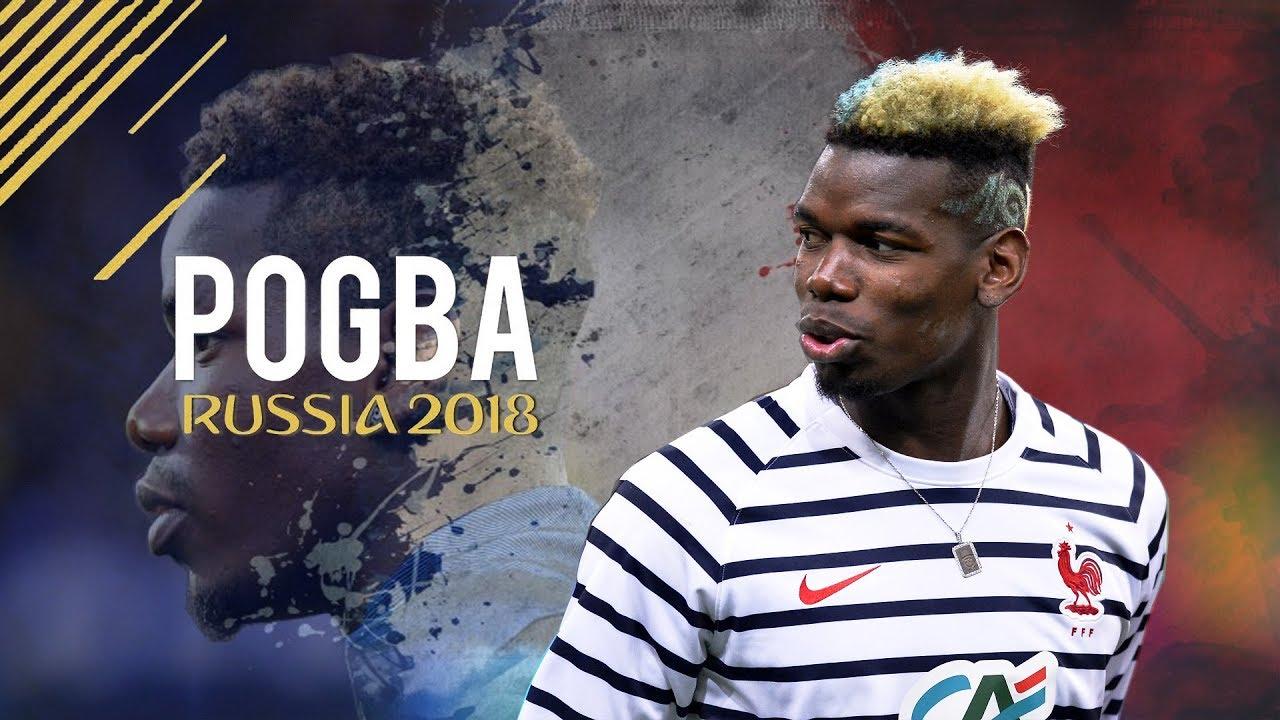 Paul Pogba - World Cup 2018 Skills & Goals France