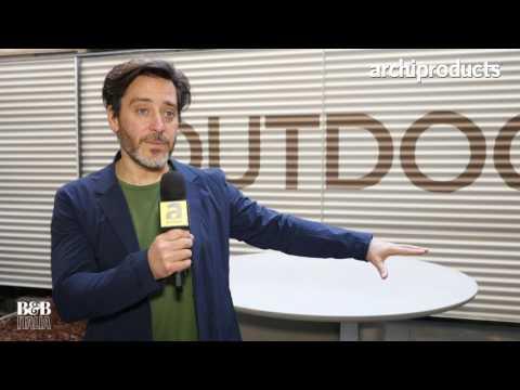 Fuorisalone 2017 | B&B Italia - Jay Osgerby talks about the outdoor version of  Tobiashi Tabl