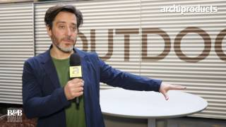 Fuorisalone 2017 | B&B Italia - Jay Osgerby talks about the outdoor version of Tobishi Table