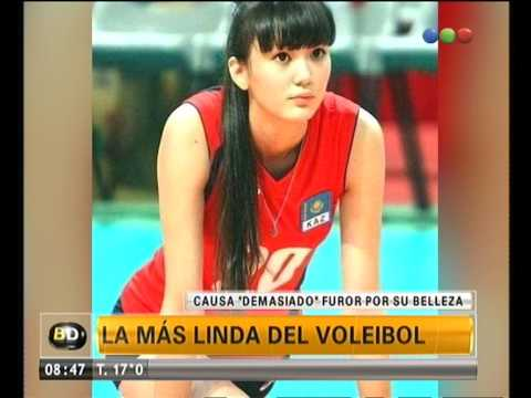 Jugadora de vóley complica a sus compañeras por ser linda - Telefe Noticias