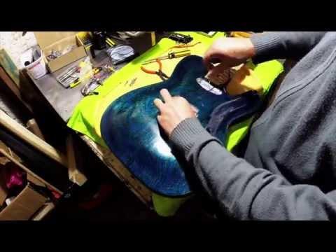 Construindo uma guitarra em casa Parte 06 Final