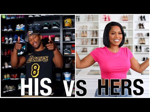 HIS AND HERS CLOSET TOUR - HOUSE TOUR PT. 2 | SHAYLA