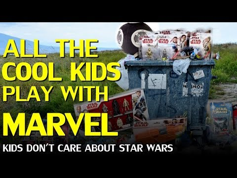 Star Wars losing a generation of kids to Marvel, the long term ramifications