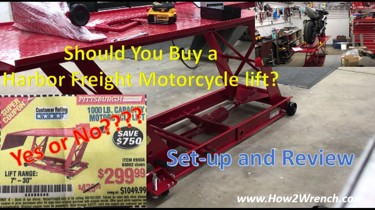 Harbor Freight Lift Table Modifications