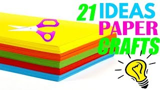 How To Make Paper Things Easy Paper Craft Ideas