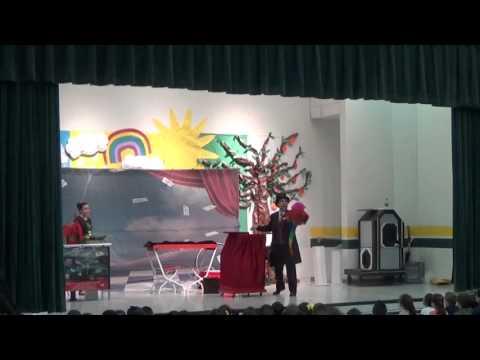 David Sage The Wizard of Wonder at Sam Houston Elementary McAllen Magic   1