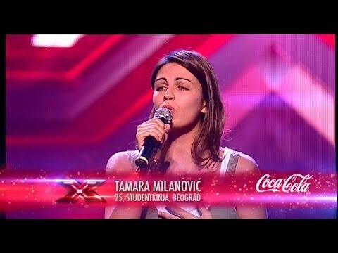 Tamara Milanovic (Don't You Remember - Adele) Audicija - X Factor Adria - Sezona 1