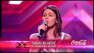 tamara milanovic dont you remember   adele audicija   x factor adria   sezona 1