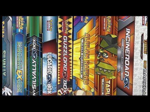 Opening 9 Random Pokemon TCG Collection Boxes