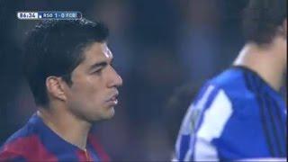 Real Sociedad vs Barcelona 1-0 All Goals & Highlights 04.01.2015
