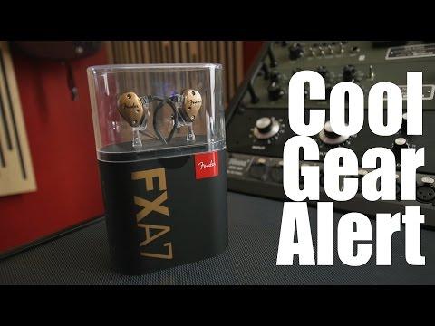 Cool Gear Alert: Fender FXA7 IEMs