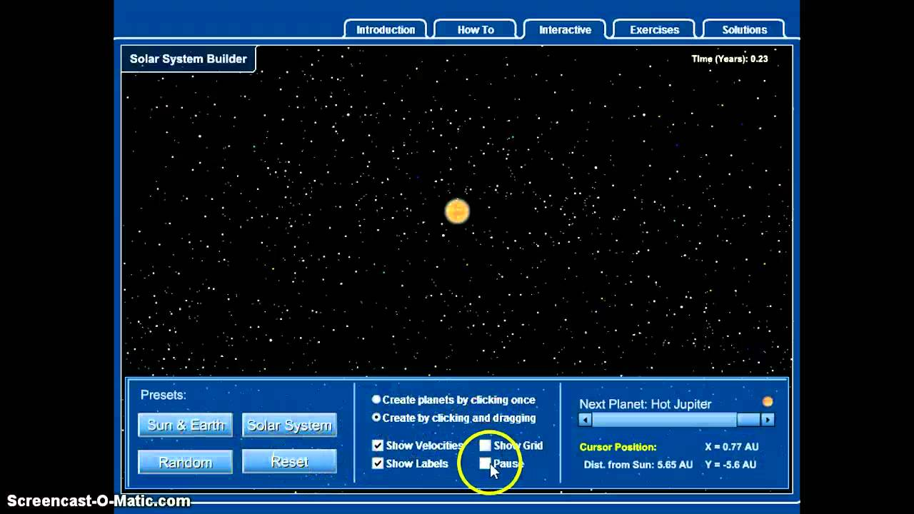 National Geographic Solar System Builder (page 2) - Pics ...