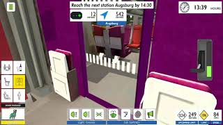 Euro Train Simulator 2 - Android Gameplay screenshot 5