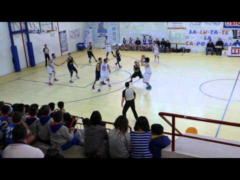 Serie C Silver 2015/2016: Formia - Fonte Roma Basket 78-67