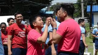 Palaro Ng Pulis (card Relay) Ang Sweet!!