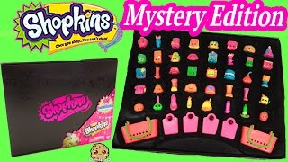 40 Shopkins Target Exclusive Mystery Edition Black Box - Reveal Video Cookieswirlc