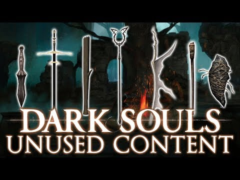 Dark Souls Cut / Unused Content ►DEBUNKING WEAPONS MISCONCEPTIONS!
