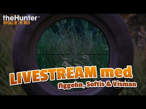 The Hunter: Call of the wild med figgehn, SoftisFFS & Visman | [LIVESTREAM 2017-02-17]