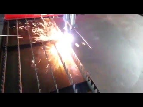 Изготовление детали из стали на плазменном станке с ЧПУ