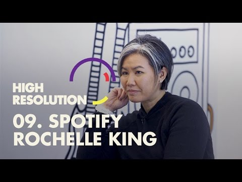 #9: Spotify VP Design, Rochelle King, on being data aware, debating your ideas, and being heard