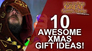 Top 10 Items To Give A GM Or DM Or Player For This Christmas