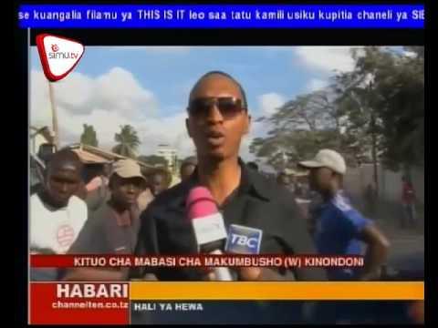 Ujenzi Wa Barabara Makumbusho Dar es Salaam