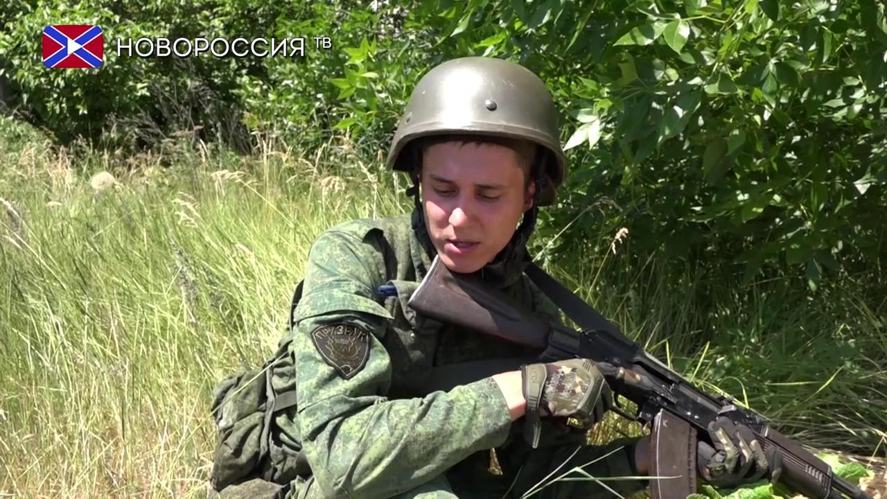 Боец НМ ЛНР о попытках прорыва ВСУ 7 июня 2017 года