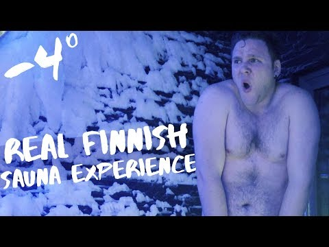 First REAL Finnish Sauna Experience